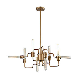 Transit Eight Light Chandelier, , large