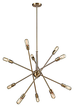 Delphine Ten Light Chandelier, , large
