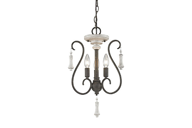 Rust Finish Cristo Chandelier, , large