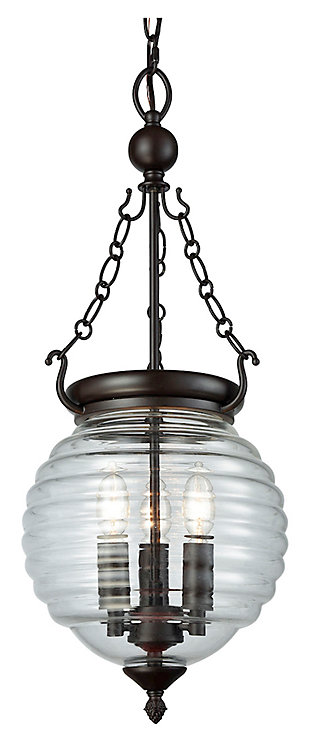 Crosswell Chandelier, , large