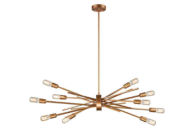 Ten Light Chandelier, , large