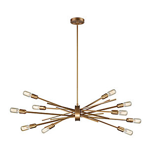 Ten Light Chandelier, , rollover