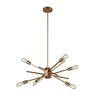 Six Light Chandelier, , rollover