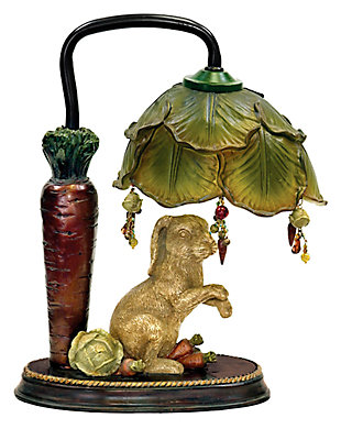 Rabbit Under Leaf Lamp, , large
