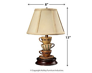 Stacked Tea Cups Lamp, , large