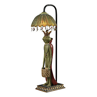 King Frog With Basket Lamp, , rollover
