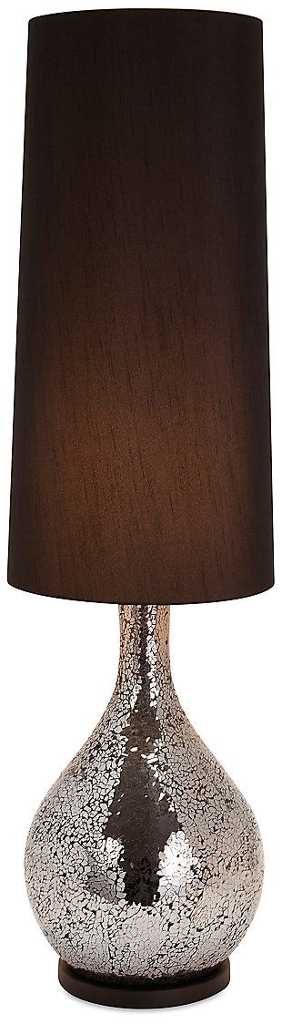 Sarovar Iriana Mosaic Glass Table Lamp, , large
