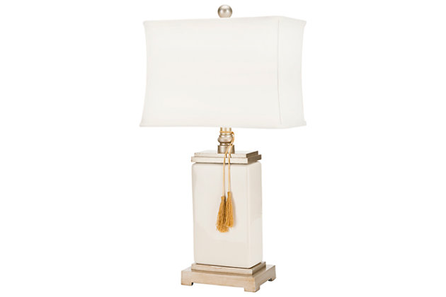 Ceramic Glazed Table Lamp, , large