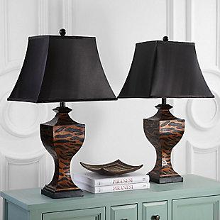 Safari Print Table Lamp (Set of 2), , rollover