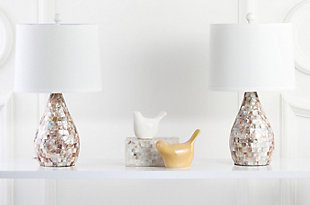 Shell Gourd Shaped Table Lamp (Set of 2), , rollover