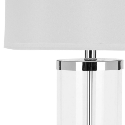 Picture of: Glass Cylinder Table Lamp Set Of 2 Ashley Furniture Homestore