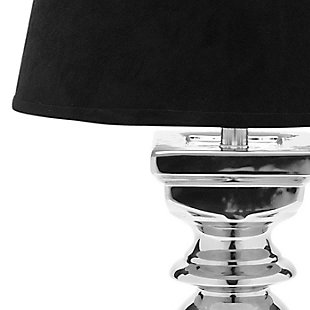 Silver Finish Baluster Table Lamp (Set of 2), , large