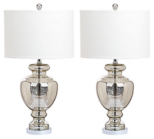Translucent Glass Table Lamp (Set of 2), , large