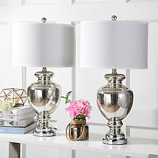 Translucent Glass Table Lamp (Set of 2), , rollover