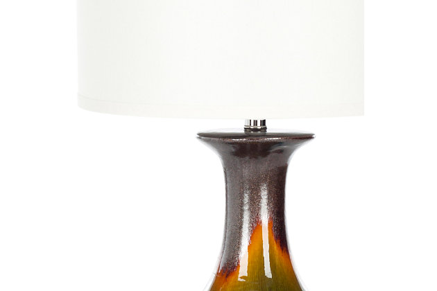 Ceramic Ombre Table Lamp, , large