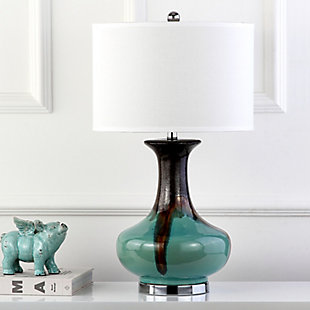 Ceramic Ombre Table Lamp, , rollover
