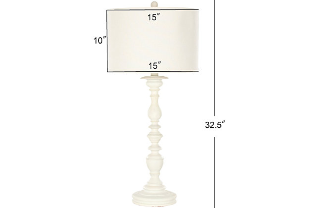 Candlestick Shaped Table Lamp (Set of 2), , large