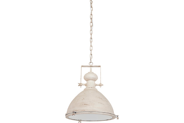 White Home Accents Pendant Light by Ashley HomeStore