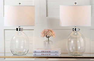 Fillable Glass Table Lamp (Set of 2), , large