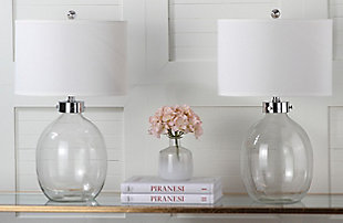 Fillable Glass Table Lamp (Set of 2), , rollover