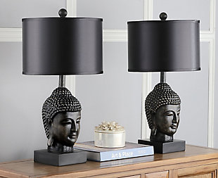 Buddha Shaped Table Lamp (Set of 2), , rollover