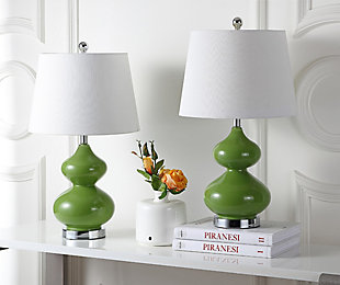 York Double Gourd Table Lamp (Set of 2), , rollover