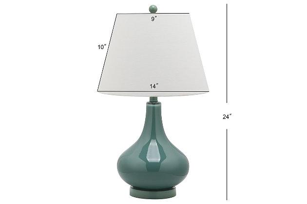 Antwerp Gourd Table Lamp (Set of 2), Marine Blue, large