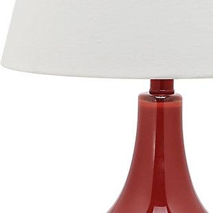 Antwerp Gourd Table Lamp (Set of 2), Sangria, large