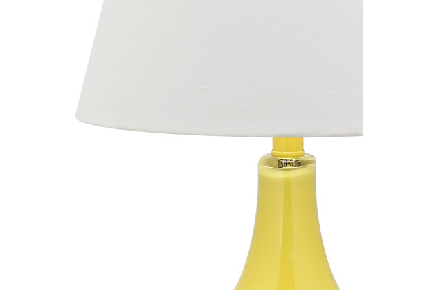 Antwerp Gourd Table Lamp (Set of 2), Yellow, large