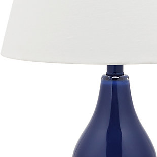 Brixton Double Gourd Table Lamp (Set of 2), Navy, large