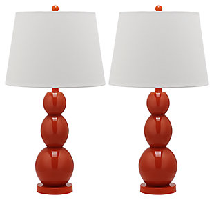 Cassie Three Sphere Glass Table Lamp (Set of 2), , large