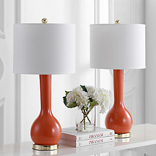 Luz Long Neck Ceramic Table Lamp (Set of 2), , rollover