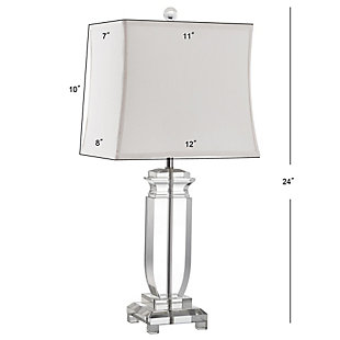 Harp Shaped Crystal Table Lamp (Set of 2), , large