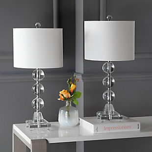 Three Orb Crystal Table Lamp (Set of 2), , rollover