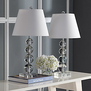 Crystal Ball Table Lamp (Set of 2), , rollover