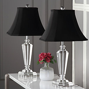 Classic Crystal Table Lamp (Set of 2), , rollover