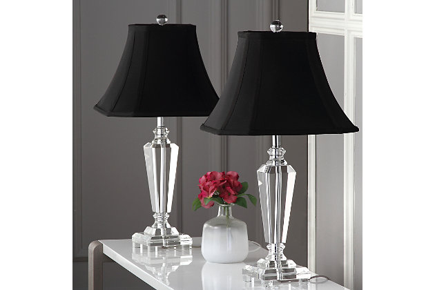 Classic Crystal Table Lamp (Set of 2), , large