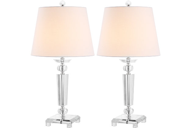 Crystal Traditional Table Lamp (Set of 2), , large