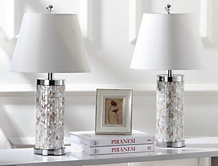 Cylinder Crystal Ball Table Lamp (Set of 2), , rollover