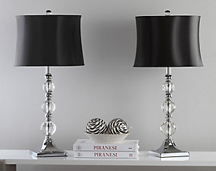 Stacked Crystal Ball Table Lamp (Set of 2), , rollover