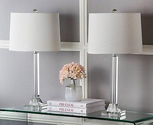 Crystal Column Lamp (Set of 2), , rollover