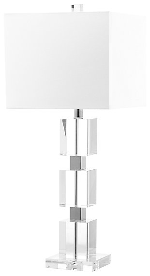 Crystal Cube Lamp, , large