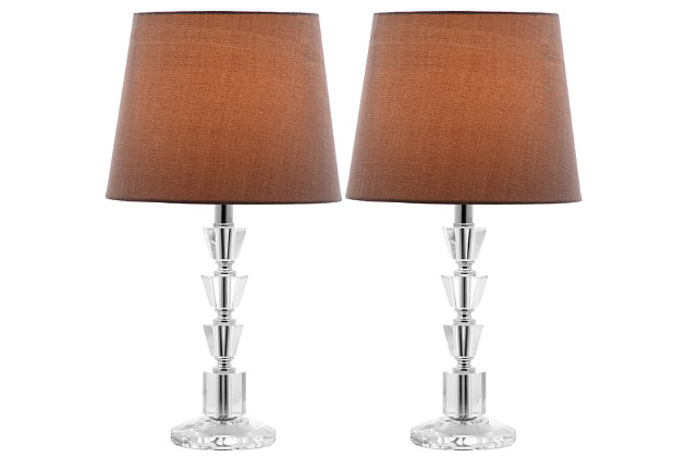 Tiered Orb Lamp (Set of 2), Gray, large