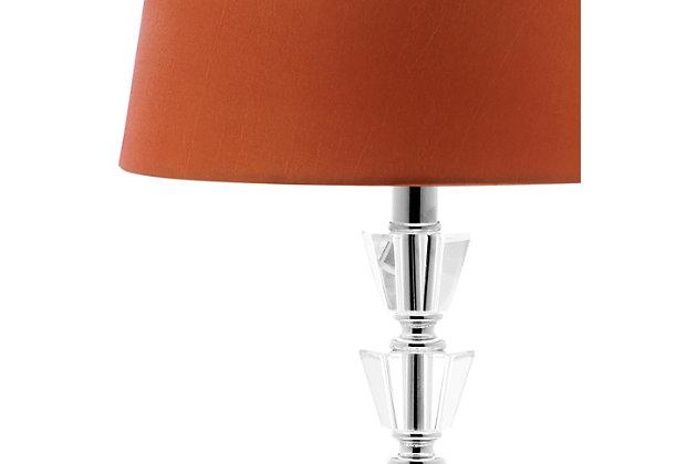 Tiered Orb Lamp (Set of 2), Orange, large
