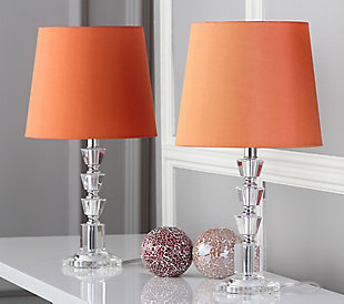 Tiered Orb Lamp (Set of 2), Transparent, rollover