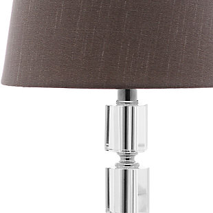 Crystal Cube Lamp (Set of 2), Gray, large