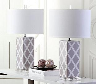 Garden Lattice Table Lamp (Set of 2), , rollover