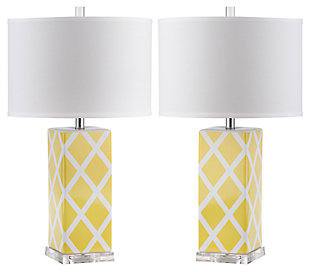 Garden Lattice Table Lamp (Set of 2), , large
