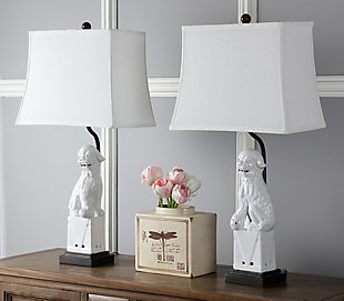 Foo Dog Table Lamp (Set of 2), , rollover