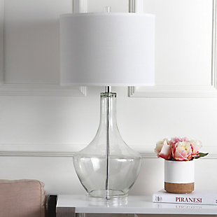 Urn Shaped Table Lamp, Transparent, rollover